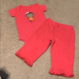 🌈4/$25🌈 Carter's Outfit